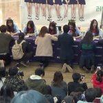 【韓国の反応】k-popグループLovelyzサイン会feat.奴隷