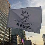 K-popアイドルオタクがロウソクの代わりにペンライトでパククネ下野デモに参加してる件www