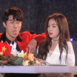 【Redvelvetアイリーン】ファンをからかうためにラッパーがアイリーンの肩に手を置く→韓国の反応「セクハラ!」