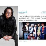 【防弾少年団】アメリカの映像監督「BTSは整形だ」とツイート→韓国の反応「整形してあの顔だったら医者の人生終わりだろ」