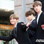 【防弾少年団】V、ジン、ジョングクのビジュアルラインが整いすぎと話題に→韓国の反応「三人が同じチームなの奇跡」