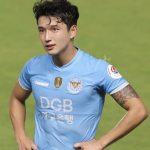 Kリーグ大邱FCのチョン・スンウォン選手がイケメン過ぎると話題に→韓国の反応「SM顔」
