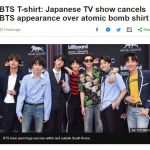 【防弾少年団】Tシャツ問題でMステキャンセルの件が英語圏でも報道→韓国の反応「日本の蛮行を世界に広めよう」