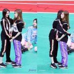 IZ*ONEチェヨン&ITZYチェリョン姉妹アイドル陸上大会での久々の再会が話題に